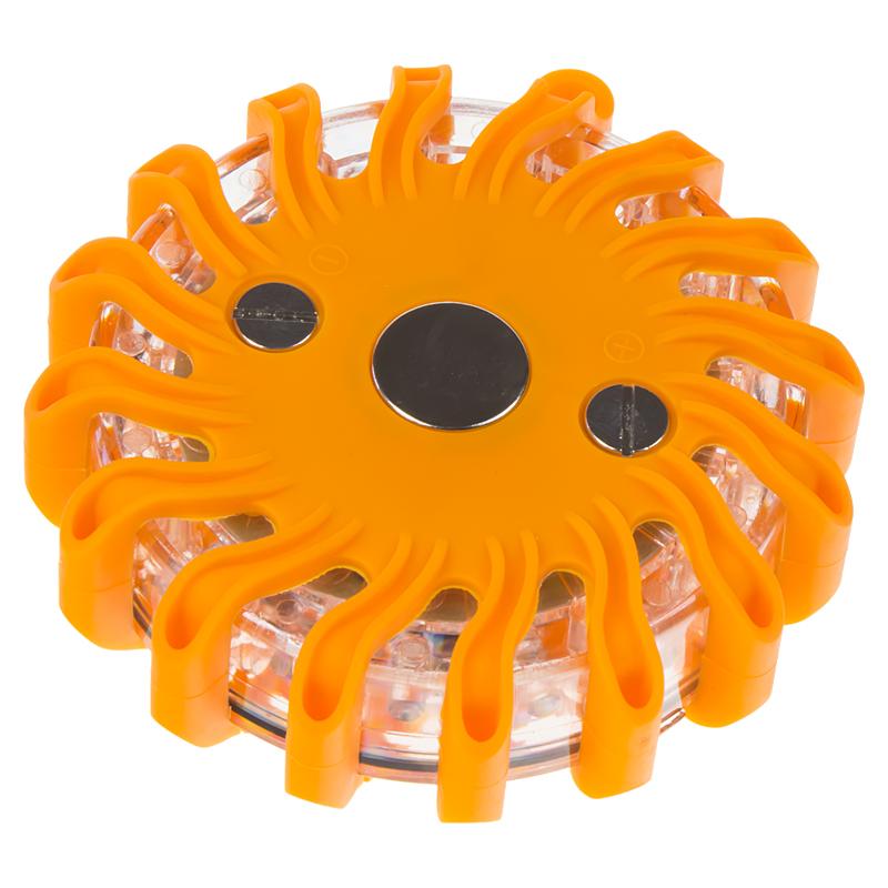 LED výstražné světlo 16LED, oranžové