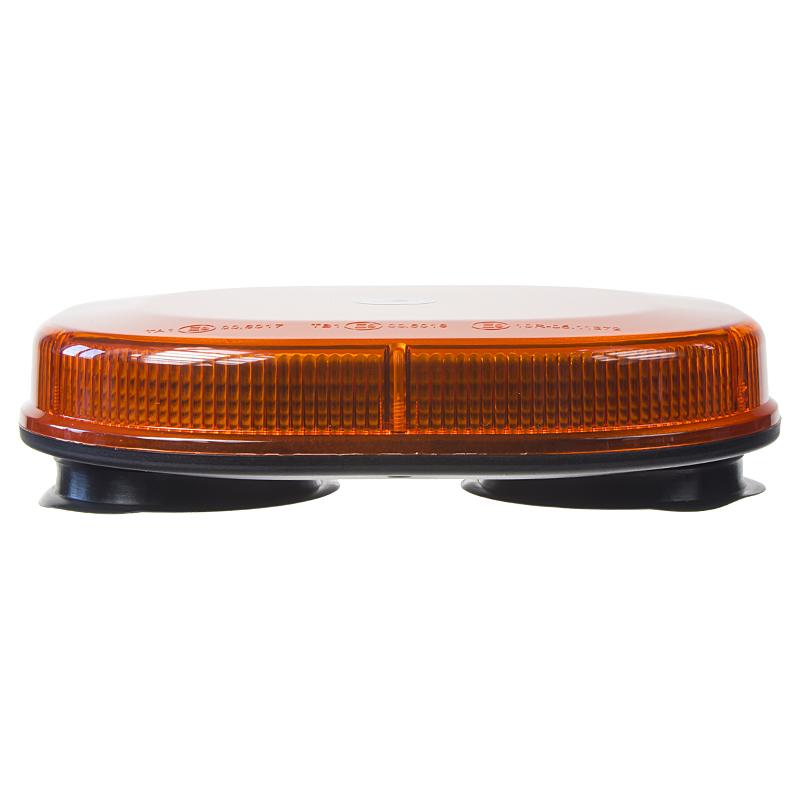 Rampa oranžová, 32LEDx1W, magnet, 12-24V, 200mm, ECE R65