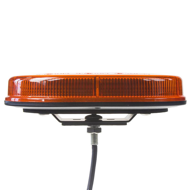 Rampa oranžová, 32LEDx1W, pevná montáž, 12-24V, 200mm, ECE R65