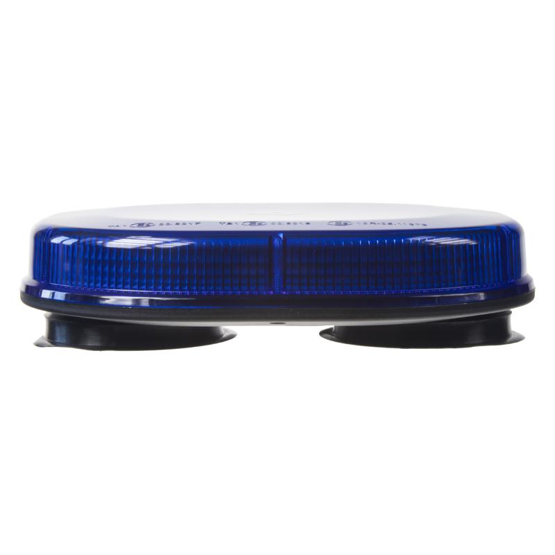 Rampa modrá, 32LEDx3W, magnet, 12-24V, 200mm, ECE R65
