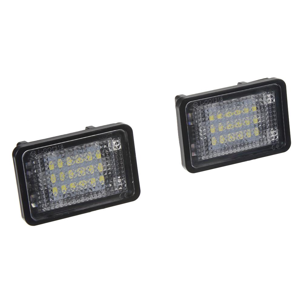 LED osvětlení SPZ do vozu Mercedes GLK Class X204