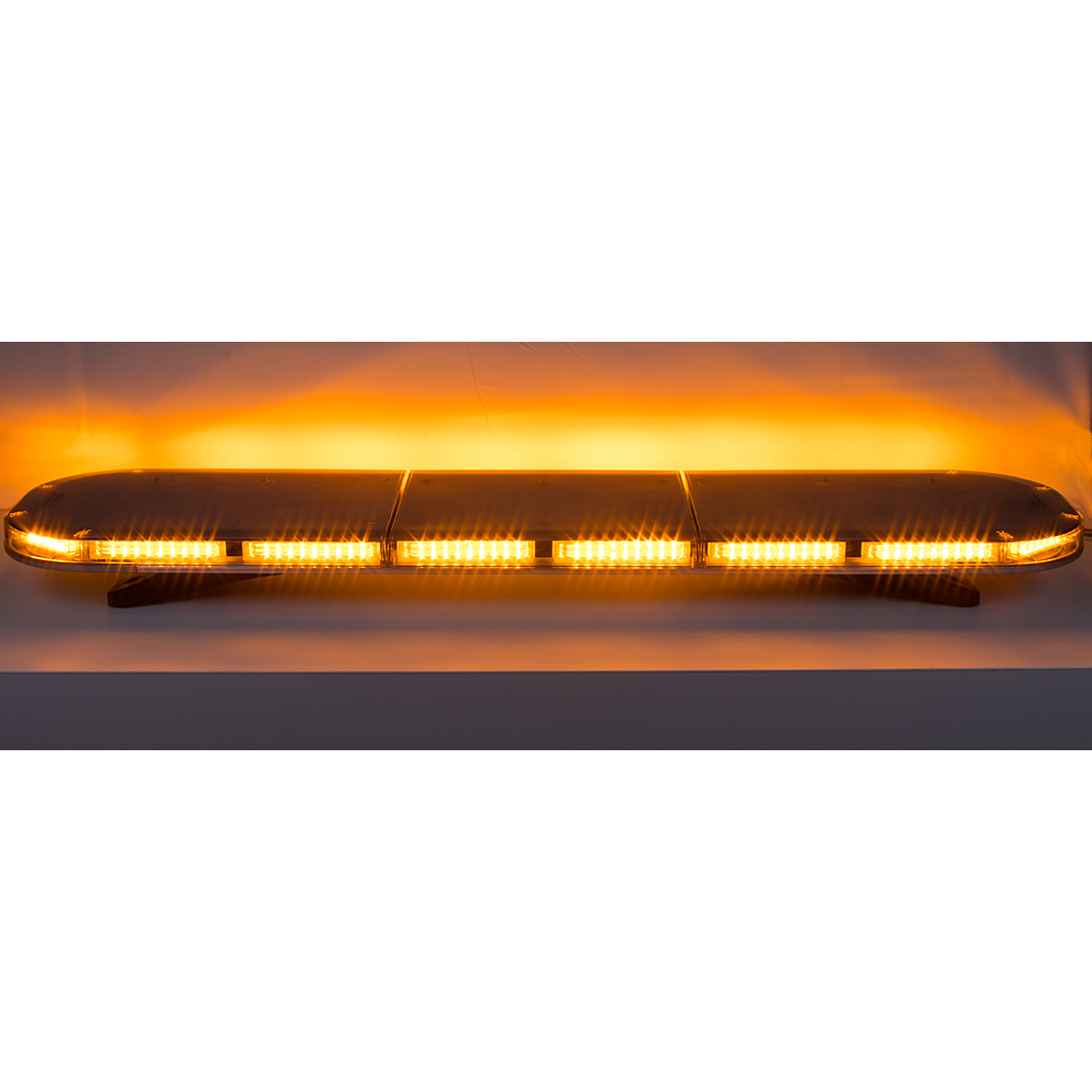 LED rampa 1172mm, oranžová, 12-24V, 144 x 5W, ECE R65