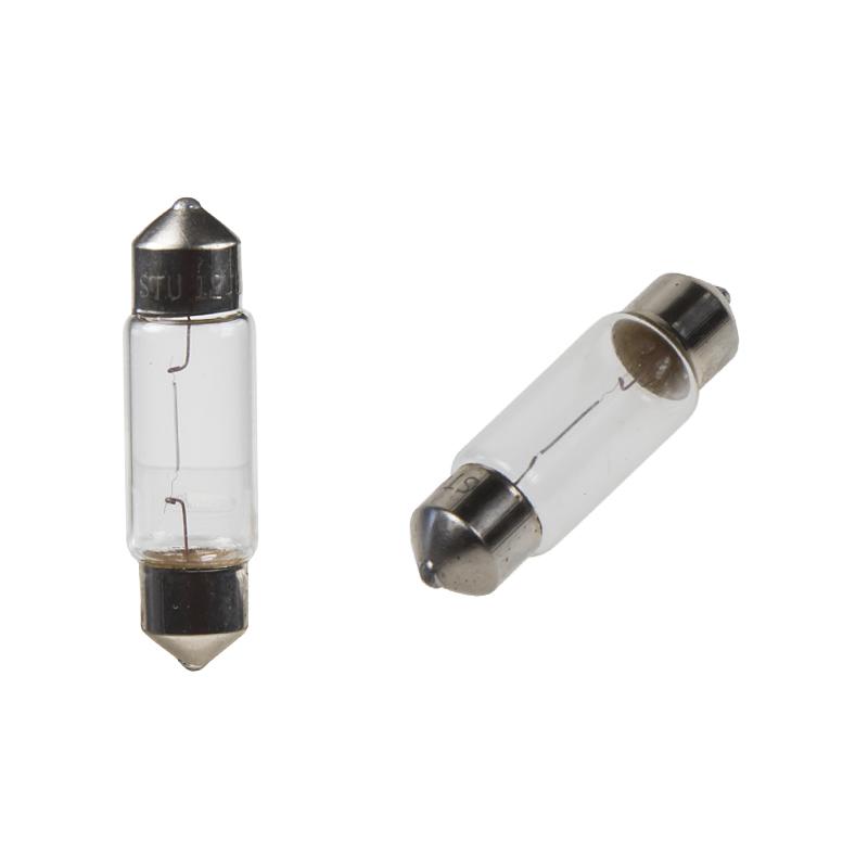 žárovka 12V (C5W) SV8,5 bílá  (10ks)