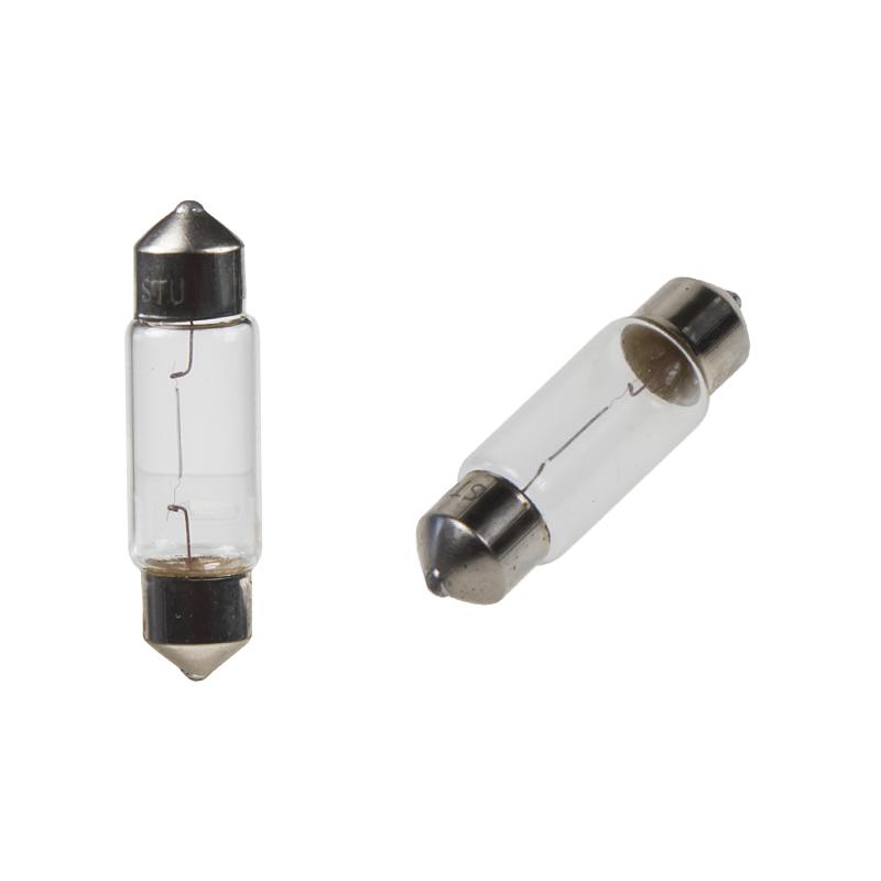 žárovka 24V (C10W) SV8,5 bílá  (10ks)
