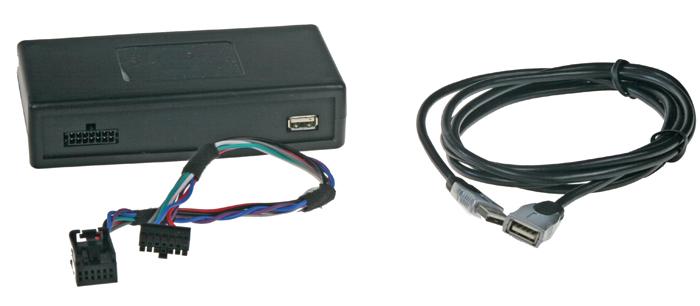 Connects2 - ovládání USB zařízení OEM rádiem Peugeot, Citroen