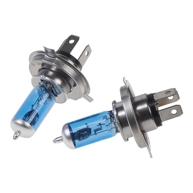 Halogen. žárovka 24V s paticí H4, Blue white 4300K, 75/70W