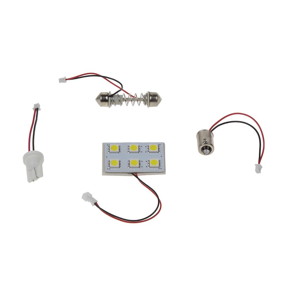 LED panel 32x20 mm 12V, 6LED/3SMD