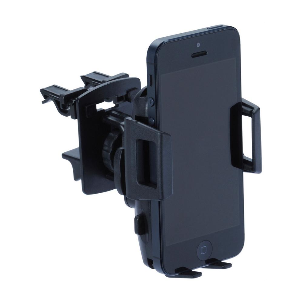 Univerzální držák s úchytem do ventilační mřížky se systémem 4QF pro telefony 44 - 78 mm