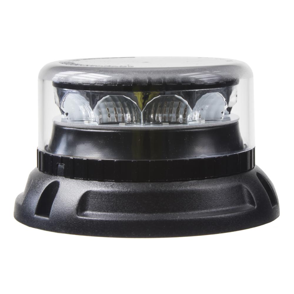 PROFI LED maják 12-24V 12x3W červený čirý 133x76mm, ECE R10