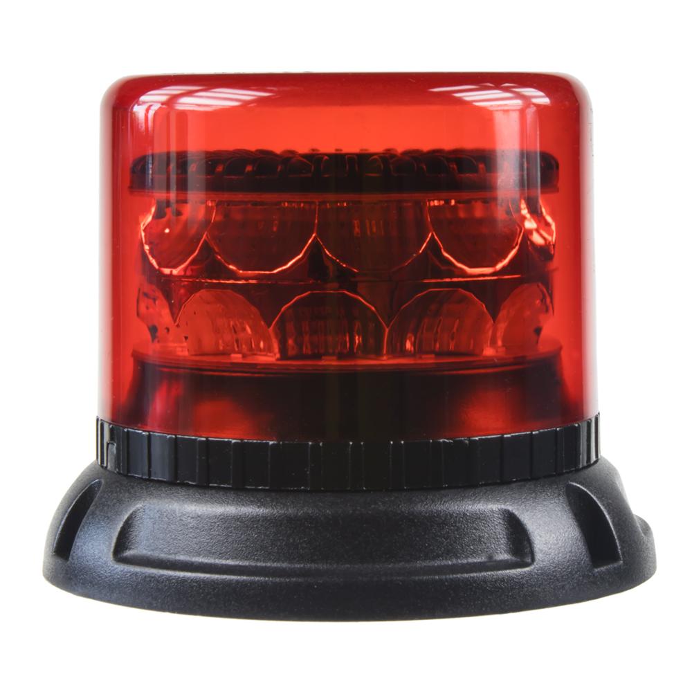 PROFI LED maják 12-24V 24x3W červený 133x86mm, ECE R10