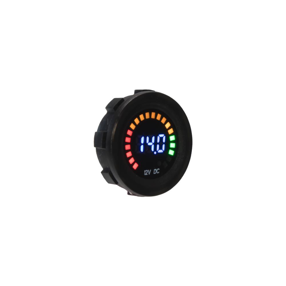 Digitální voltmetr 12V s analogovou indikací