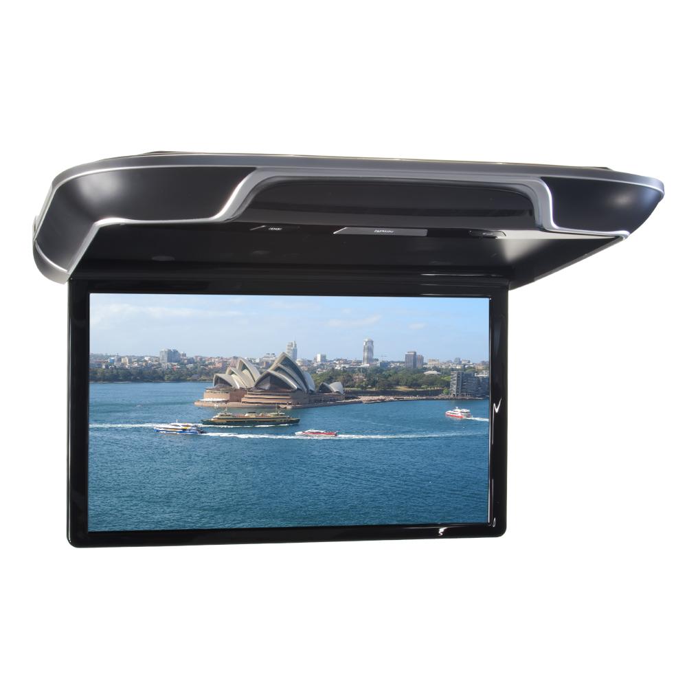 """Stropní LCD monitor 15,6"""" černý s OS. Android HDMI / USB, dálkové ovládání se snímačem pohybu"""