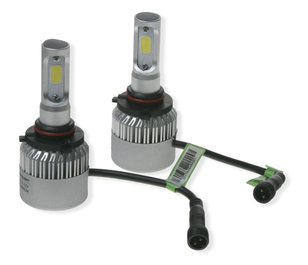 LED H10 do světlometů (set), 8000Lumen, nehomologovaná, bílá