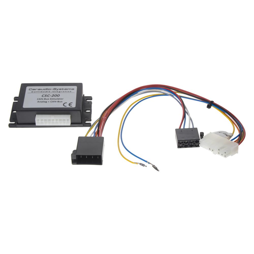 Simulátor CAN-Bus signálu pro autorádia Audi