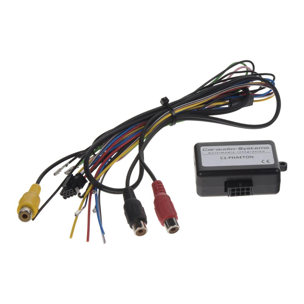 adaptér A/V vstup pro OEM navigaci VW Phaeton/Bentley