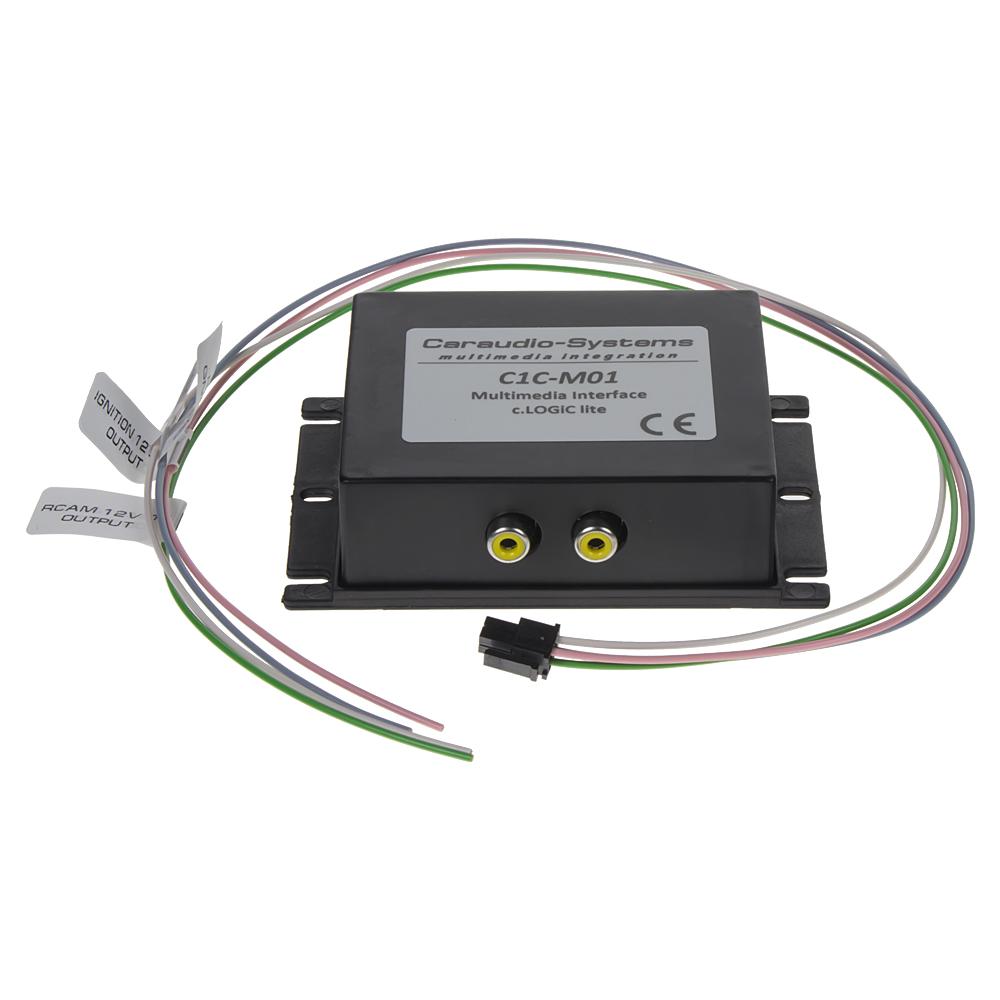 adaptér A/V vstup pro OEM navigaci Škoda, VW, Audi, Mercedes, VW bez OEM TV tuneru
