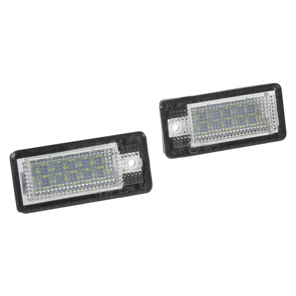 LED osvětlení SPZ do vozu Audi A3, A4, A6, A8, Q7