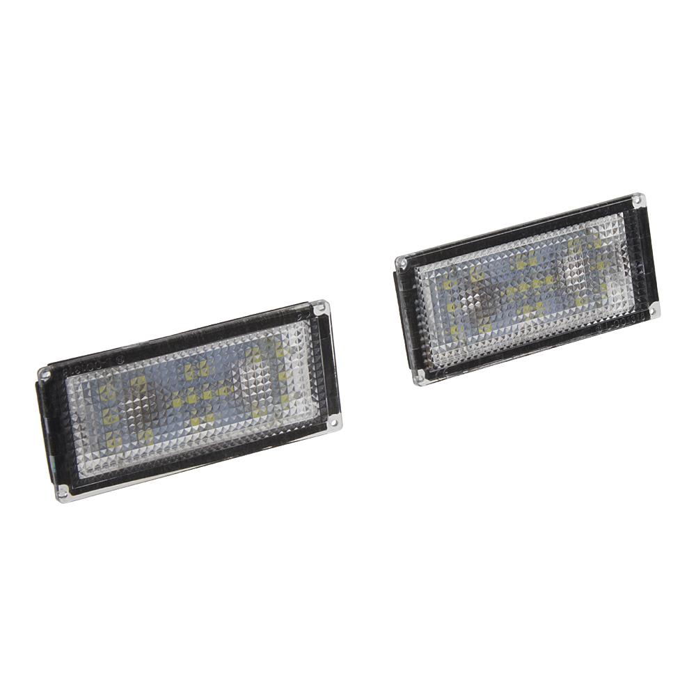 LED osvětlení SPZ do vozu BMW E66