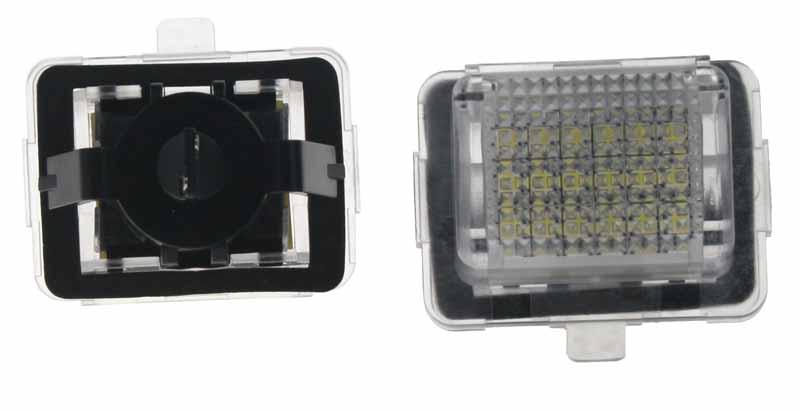 LED osvětlení SPZ do vozu Mercedes W204, W212, C216, C207, W221