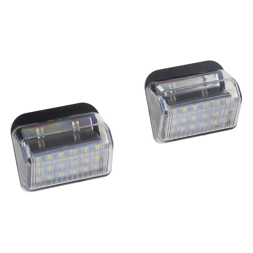 LED osvětlení SPZ do vozu Mazda
