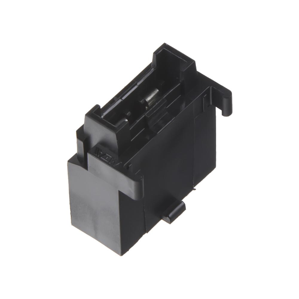 pouzdro na plochou MIDI pojistku černé, 10 ks
