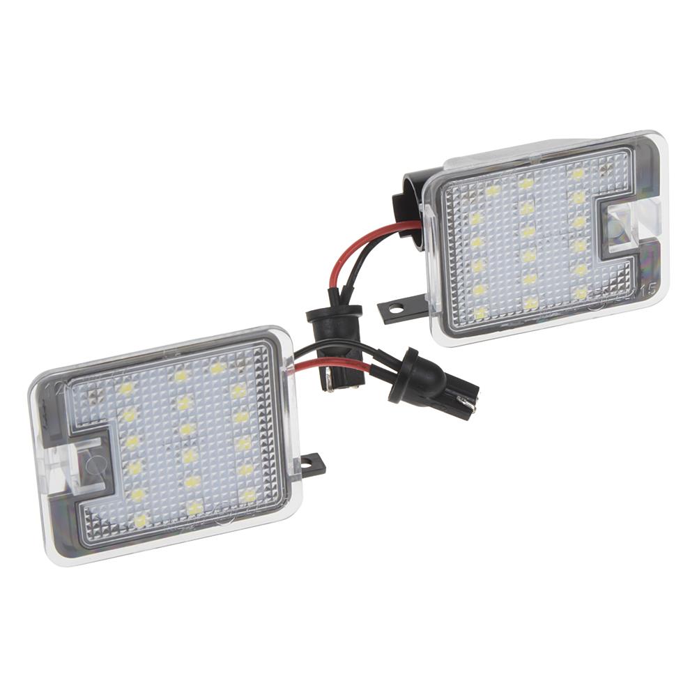 LED osvětlení do zrcátka Ford C-Max, S-Max, Focus, Kuga, Mondeo