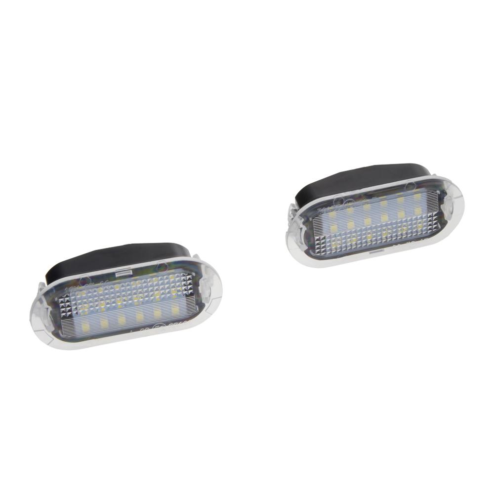 LED osvětlení interiéru VW, Seat, Škoda