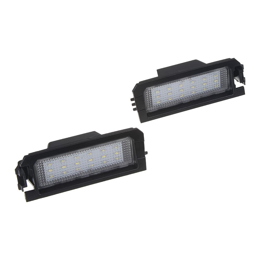 LED osvětlení SPZ do vozu Kia, Hyundai