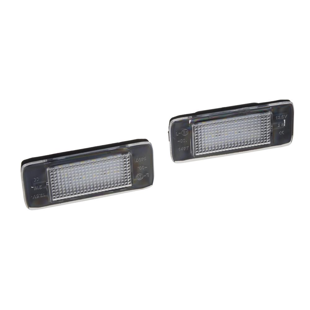 LED osvětlení SPZ do vozu Opel Astra J/Zafira C