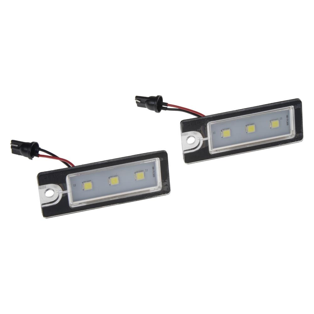 LED osvětlení SPZ do vozu Volvo XC70, XC90