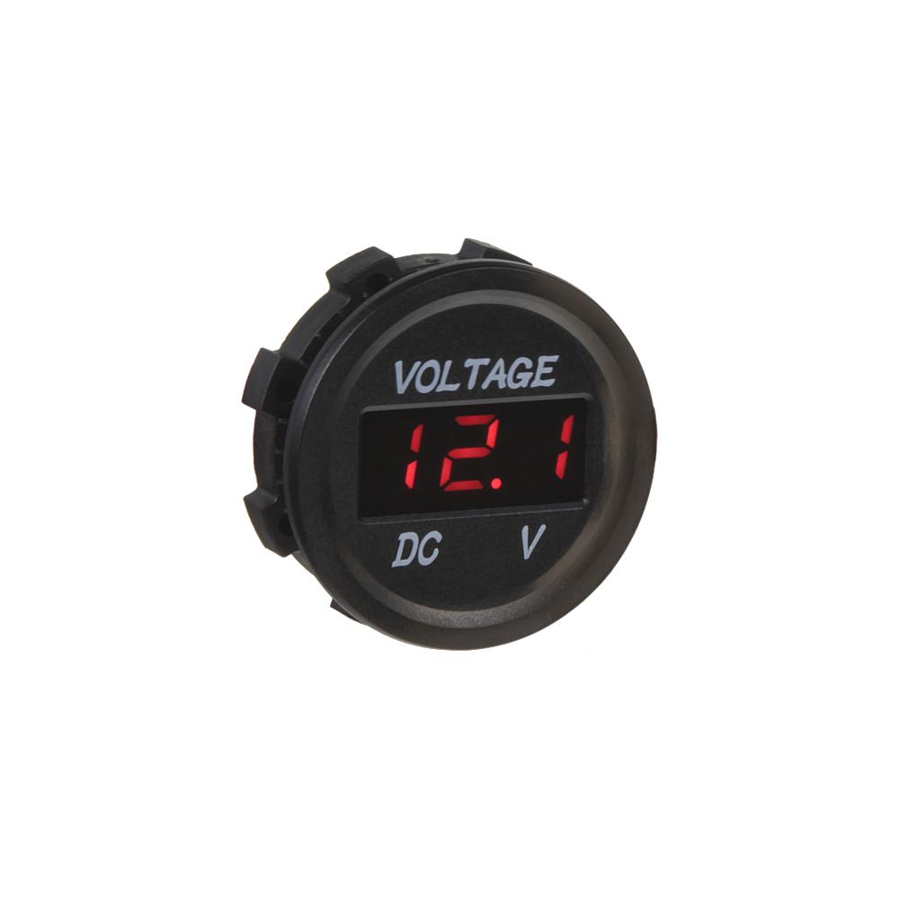 Digitální voltmetr 6-30V červený