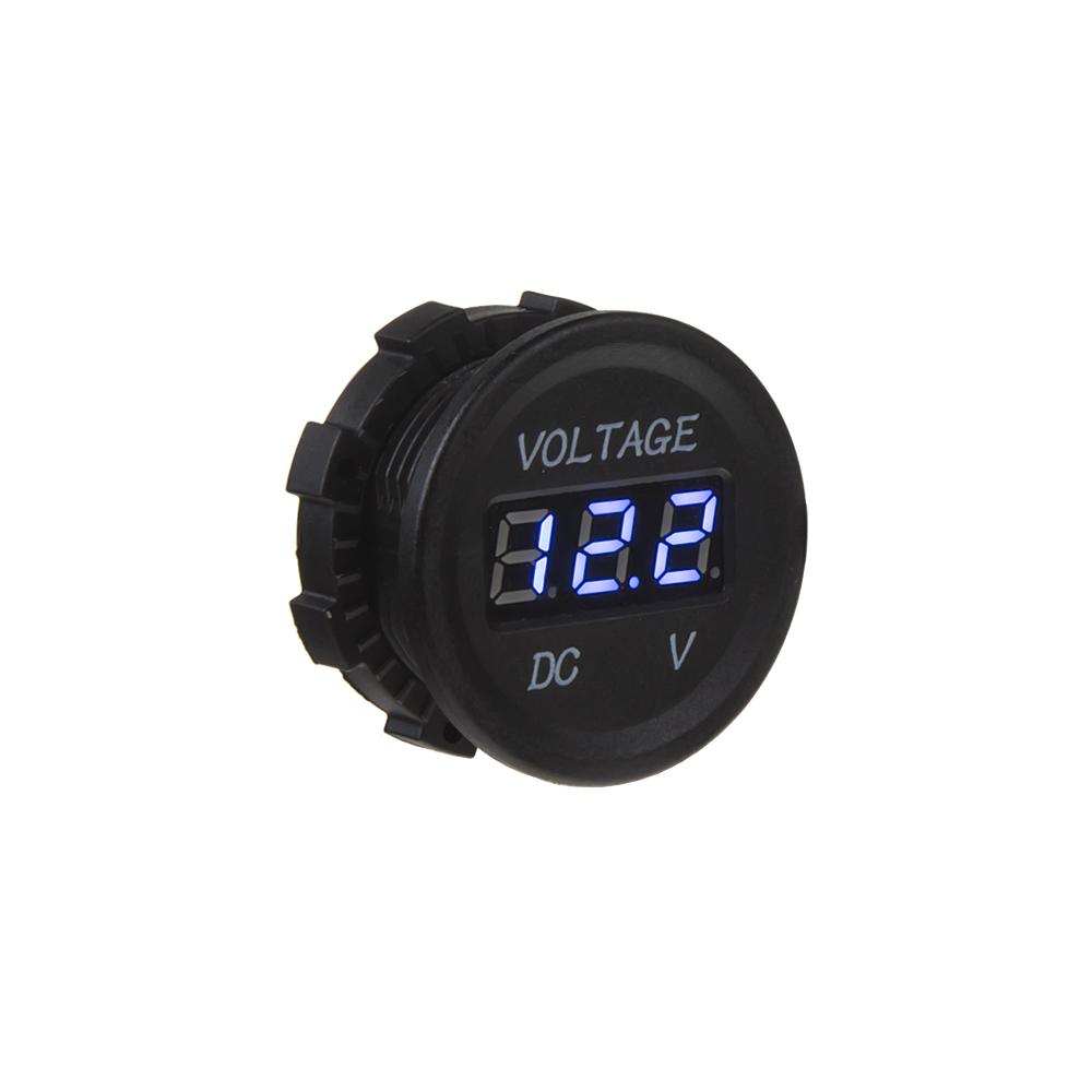 Digitální voltmetr 6-30V modrý