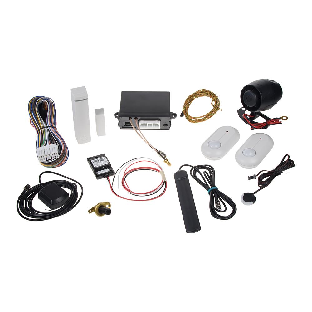 Sada GSM/GPS autoalarmu CA-2103, CA-550, 2x JA-185P a JA-150M