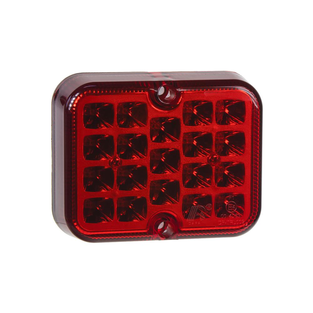 Mlhovka zadní 19LED červená 12V
