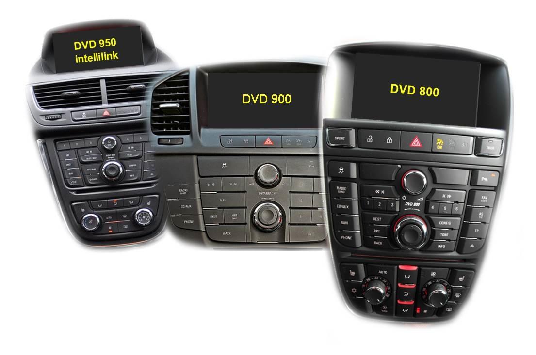 Video vstup pro Opel 2010-, Buick