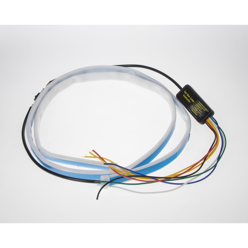 LED pásek, s ruznými světelnými efekty