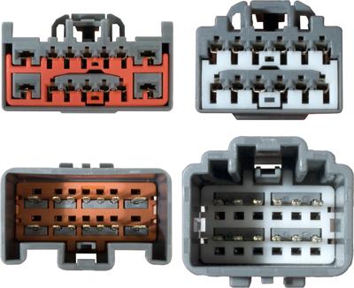 Kabeláž pro HF PARROT/OEM Volvo V70 08-,XC60, S80, V40 (12+14pinů)