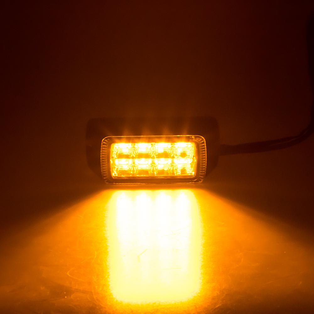 PROFI výstražné LED světlo vnější, oranžové, 12-24V, ECE R65