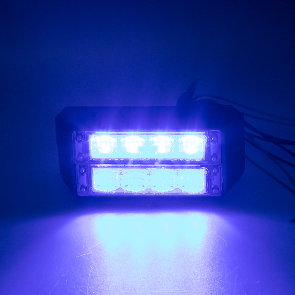 PROFI DUAL výstražné LED světlo vnější, 12-24V, modré, ECE R65