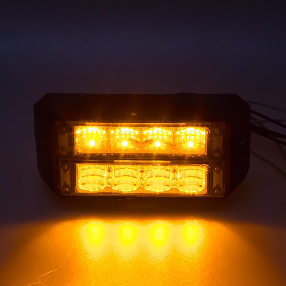 PROFI DUAL výstražné LED světlo vnější, 12-24V, oranžové, ECE R65