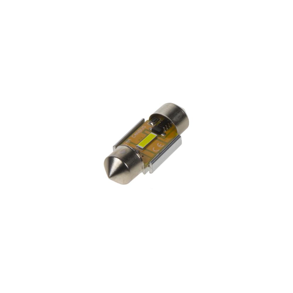 LED sufit (31mm) bílá, 12V, 1LED/1860SMD