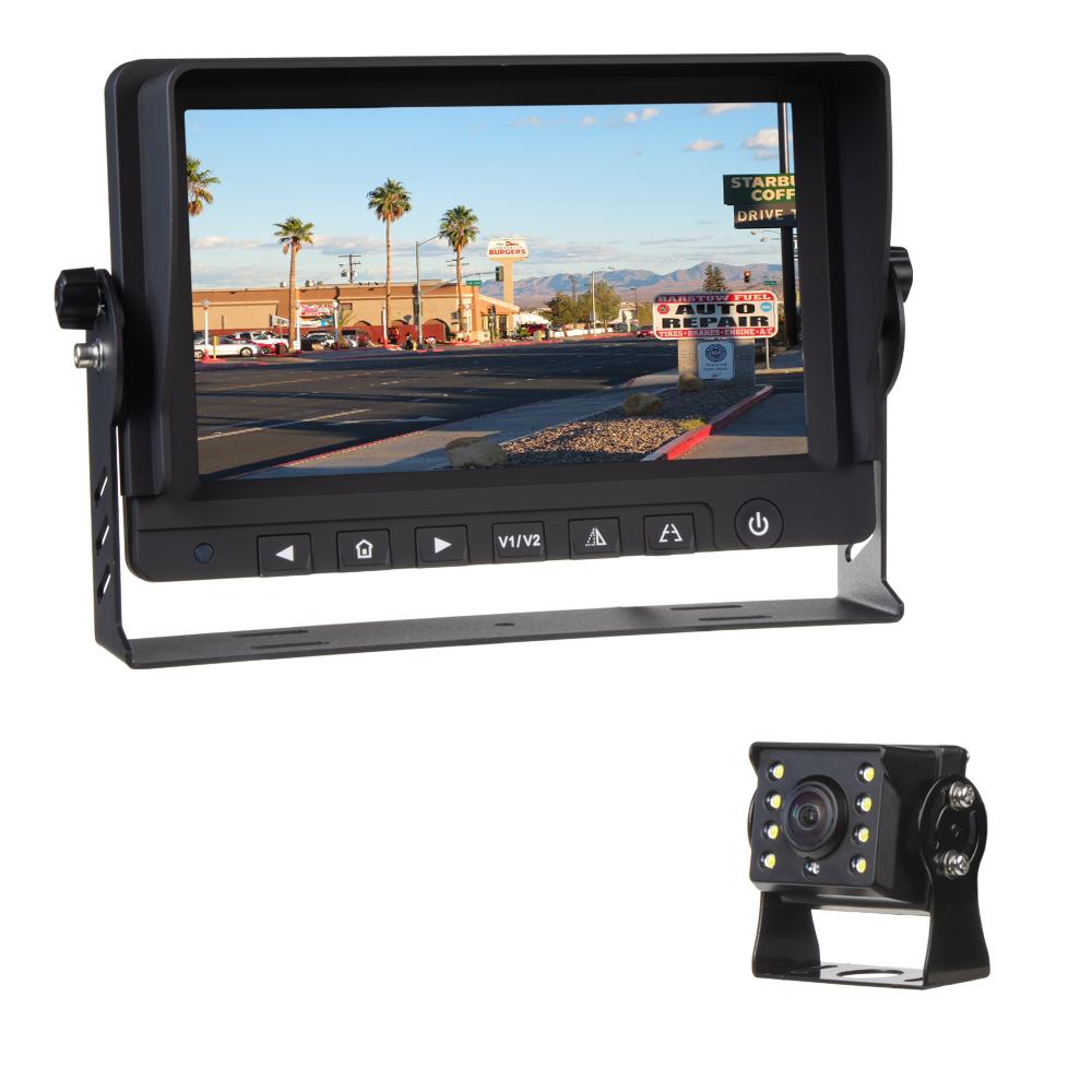 """AHD kamerový set s monitorem 9"""", kamerou 140°"""