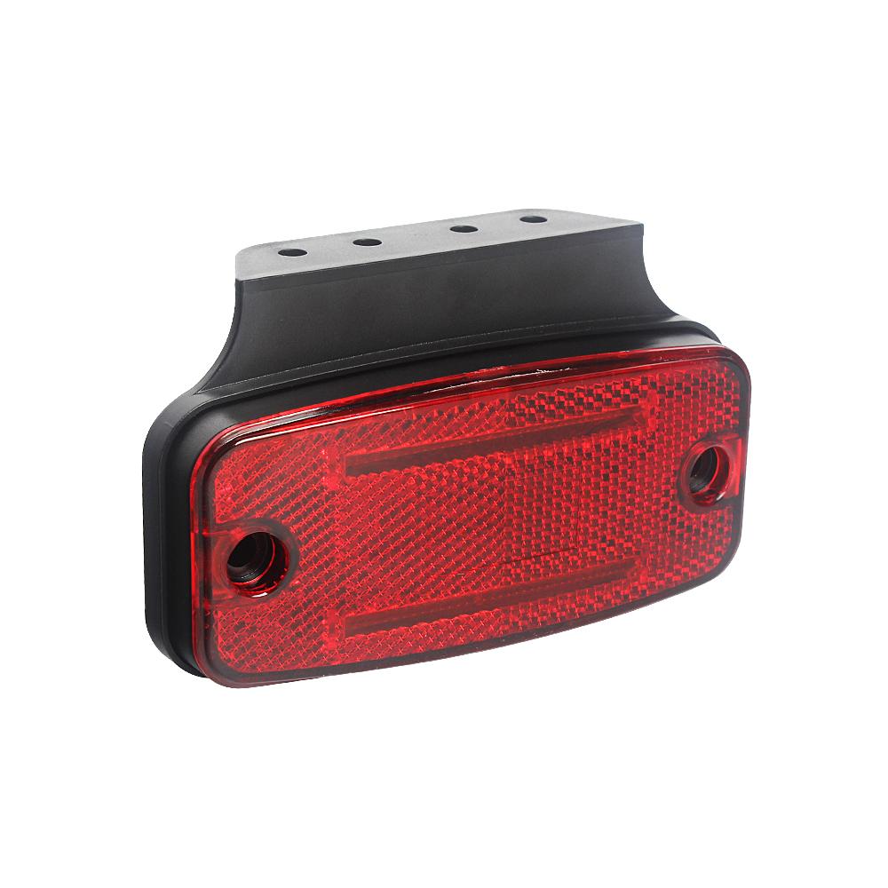 Zadní obrysové světlo LED, červený obdélník, ECE R10