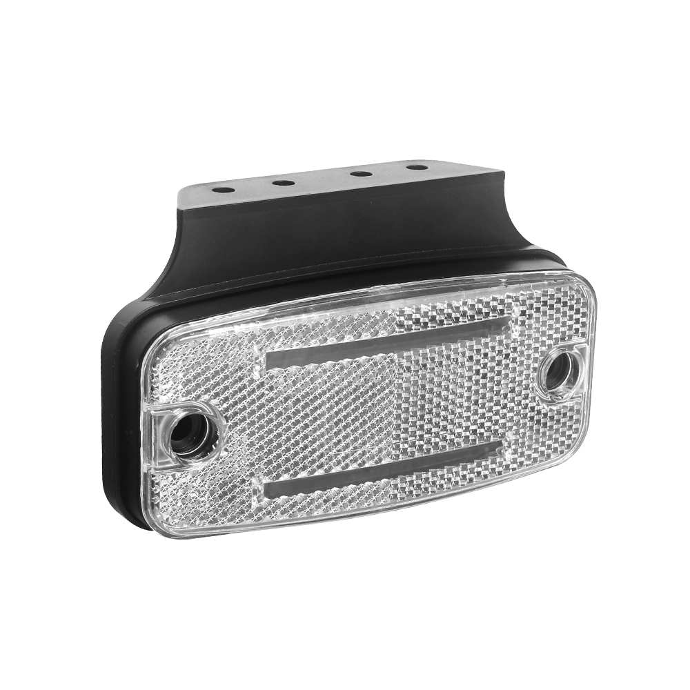 Přední obrysové světlo LED, bílý obdélník, ECE R10