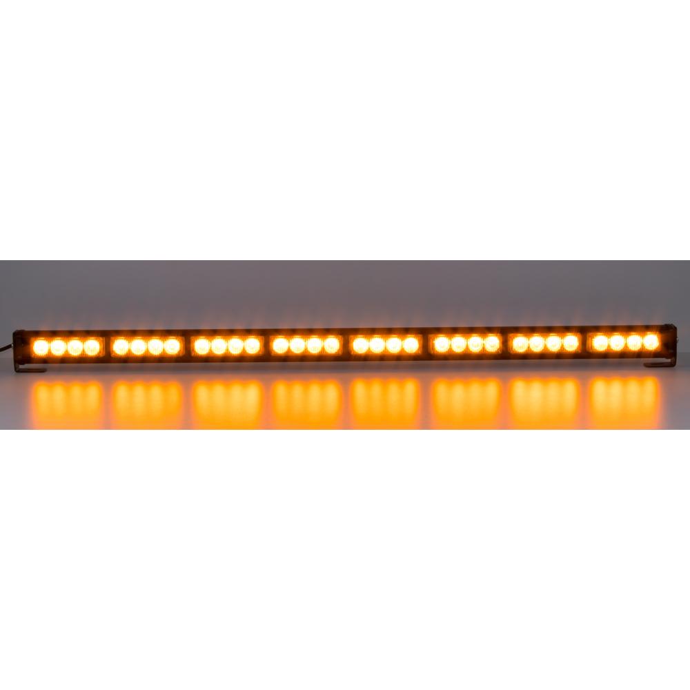 LED světelná alej, 32x 3W LED, oranžová 910mm, ECE R65