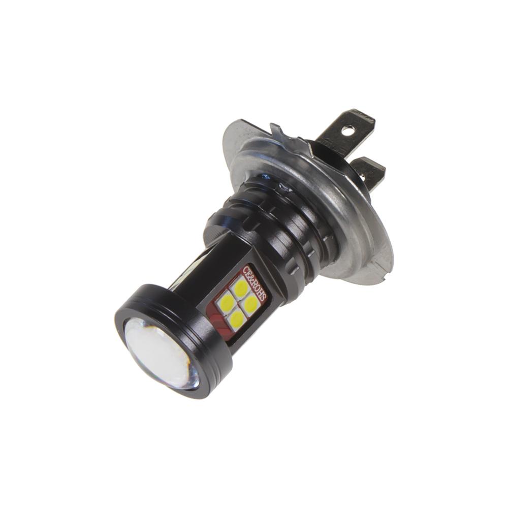 LED H7 bílá 10-50V, 15LED/2835SMD