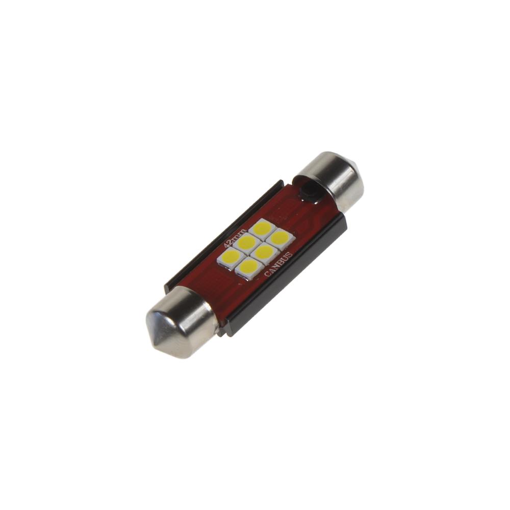 LED sufit (42mm) bílá, 12/24V, 6LED/2835SMD