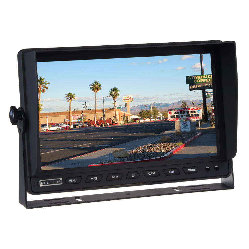 "AHD monitor 10,1"" s 2x 4PIN vstupy"
