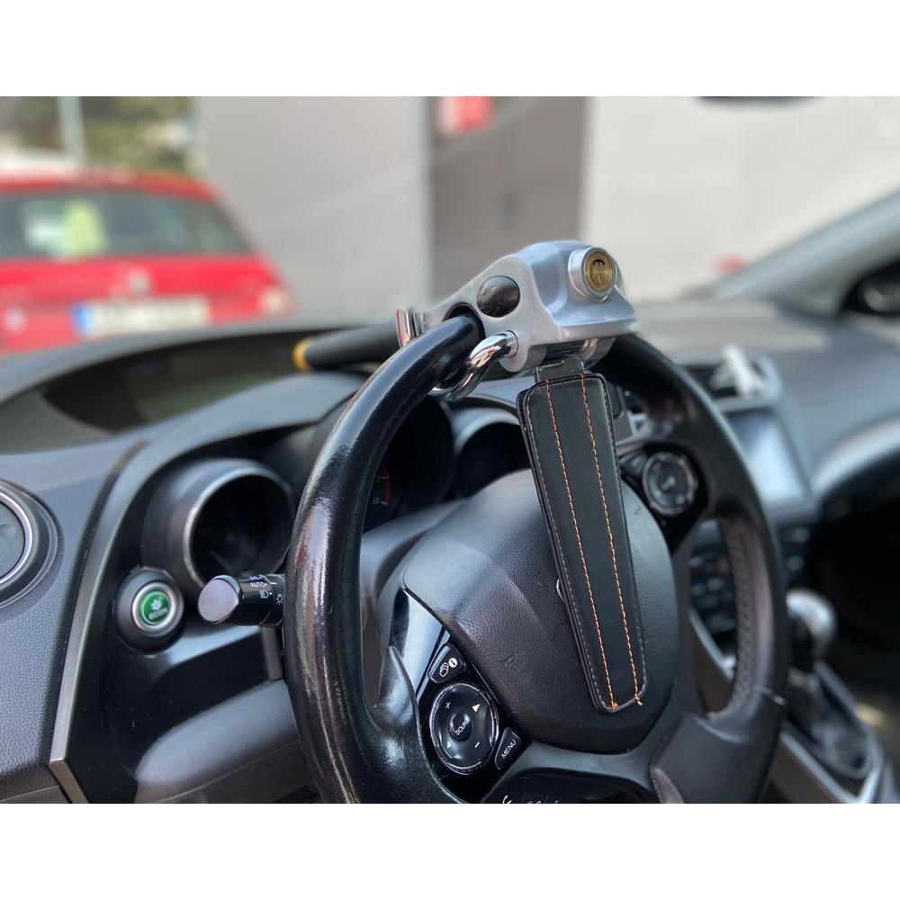 Zámek volantu s ochranou airbagu proti krádeži