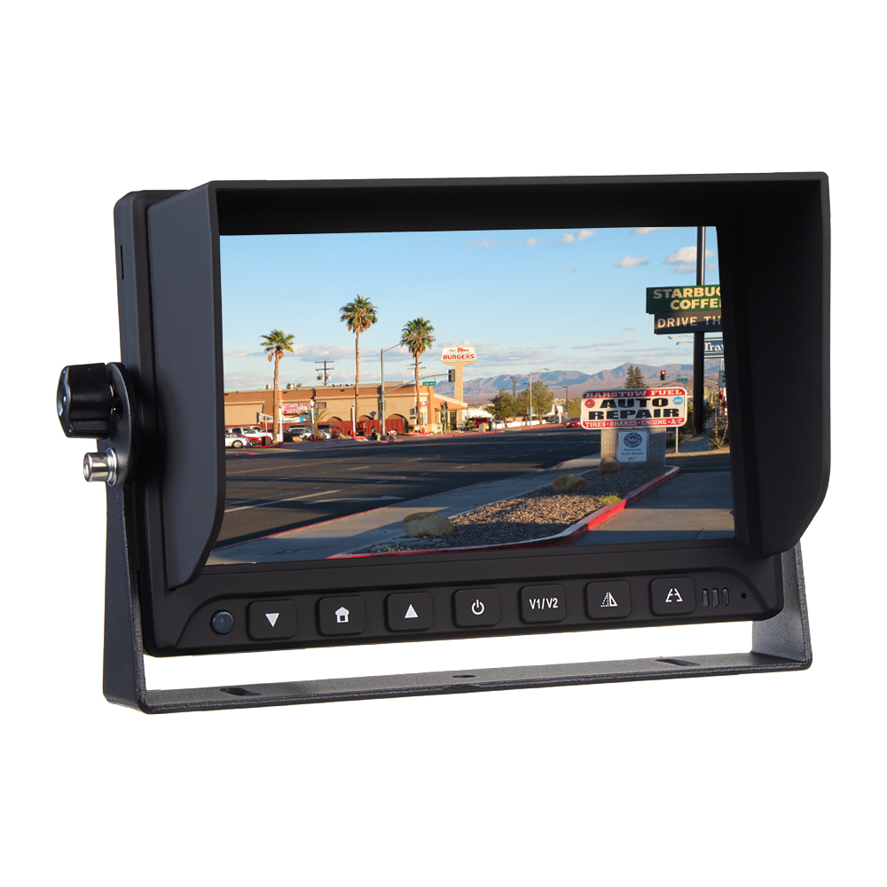 "AHD monitor 7"" s 2x4PIN vstupy"